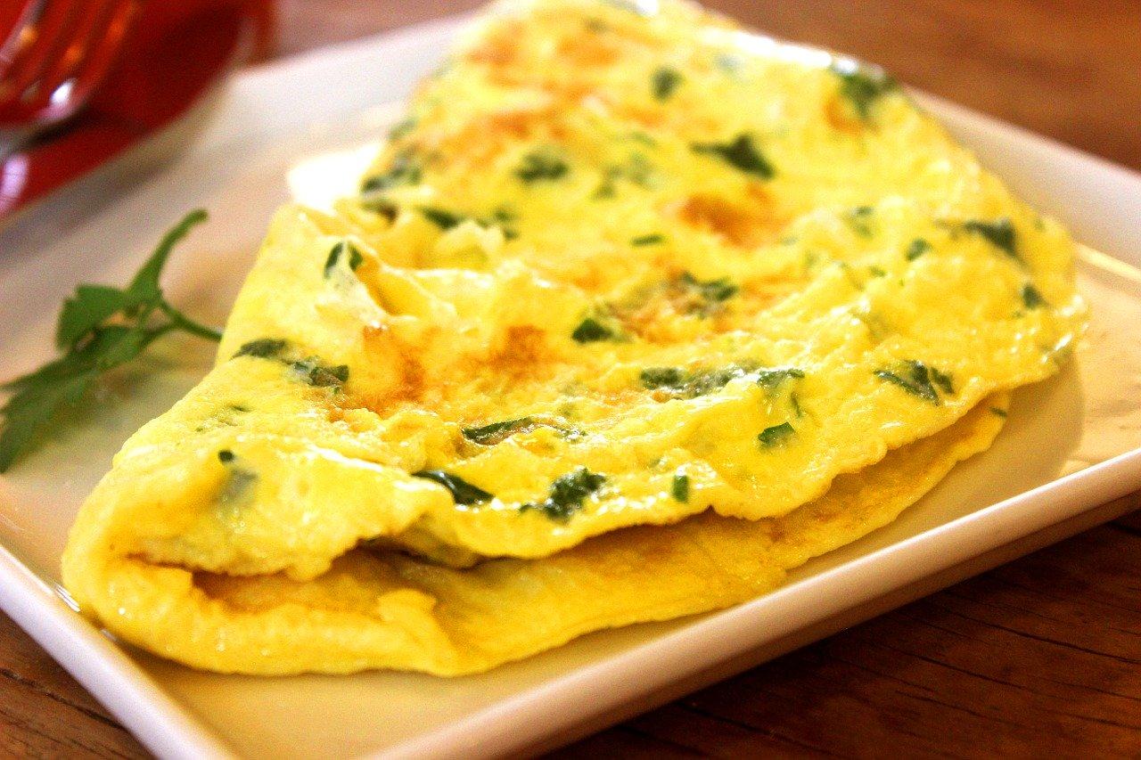 omelette herbe iranienne